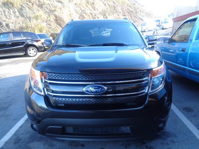 2014 FORD EXPLORER LIMITED 4DR SUV black panoramic roof back up camera 3rd row seat abs air co
