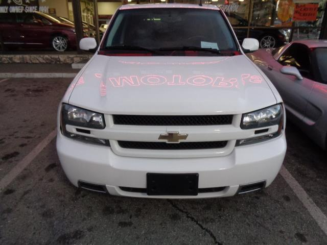 2008 CHEVROLET TRAILBLAZER SS summit white 3ss with leather navigation moon roof heated seats