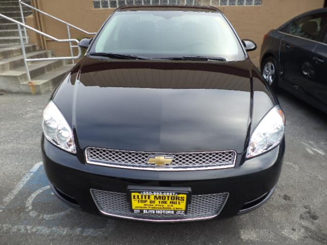2013 CHEVROLET IMPALA LT FLEET 4DR SEDAN black factory warranty sun roof rear spoiler moon roof