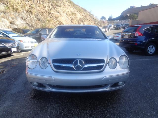 2002 MERCEDES-BENZ CL-CLASS CL500 2DR COUPE silver power door locks vehicle anti-theft abs brak