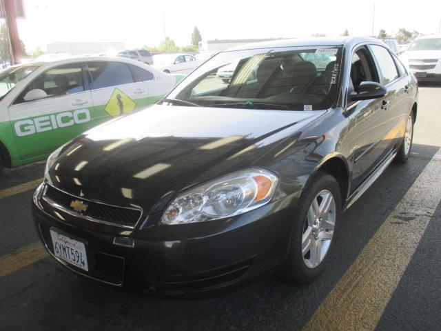 2013 CHEVROLET IMPALA LT FLEET 4DR SEDAN graphite grey body side moldings - body-colordoor handl