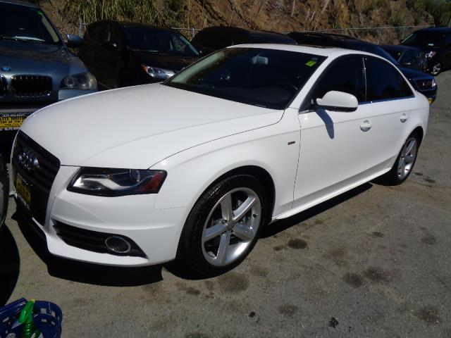 2012 AUDI A4 20T QUATTRO PREMIUM PLUS AWD 4D ibis white premium plus navigation heated seats s