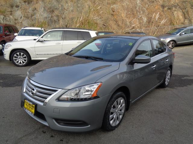 2013 NISSAN SENTRA SV 4DR SEDAN grey door handle color - chromefront bumper color - body-colorg
