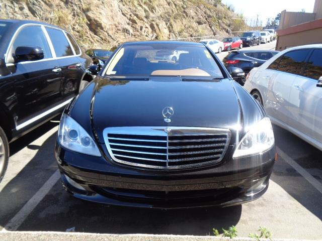 2007 MERCEDES-BENZ S-CLASS S550 4DR SEDAN designo mocha black metallic grille color - chromeair f
