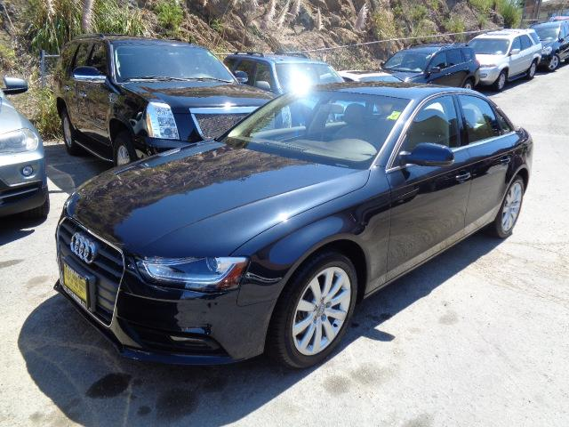 2013 AUDI A4 20T QUATTRO PREMIUM AWD 4DR SED moonlight blue metallic door handle color - body-col