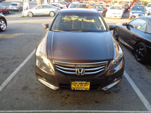 2012 HONDA ACCORD EX-L V6 4DR SEDAN brown abs air conditioning alarm alloy wheels cruise cont