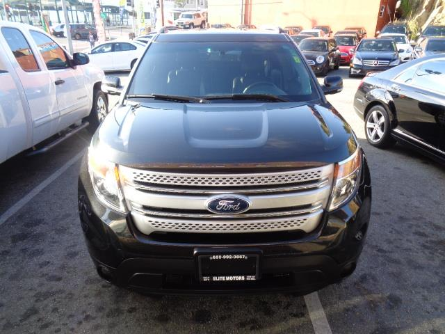 2013 FORD EXPLORER XLT AWD 4DR SUV black leather 3rd row seat rear spoiler - rooflinedoor handl