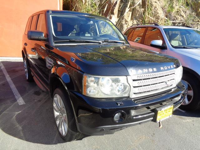 2006 LAND ROVER RANGE ROVER SPORT SUPERCHARGED 4DR SUV 4WD java black supercharged perforated sea