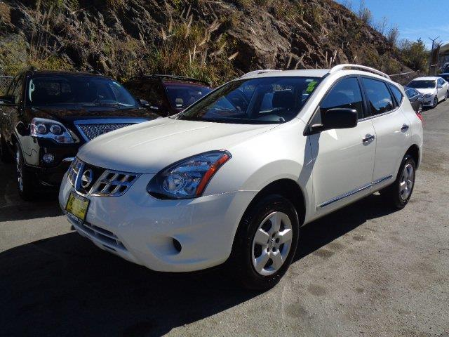 2014 NISSAN ROGUE SELECT S 4DR CROSSOVER pearl white rear spoiler - rooflinebody side moldings -