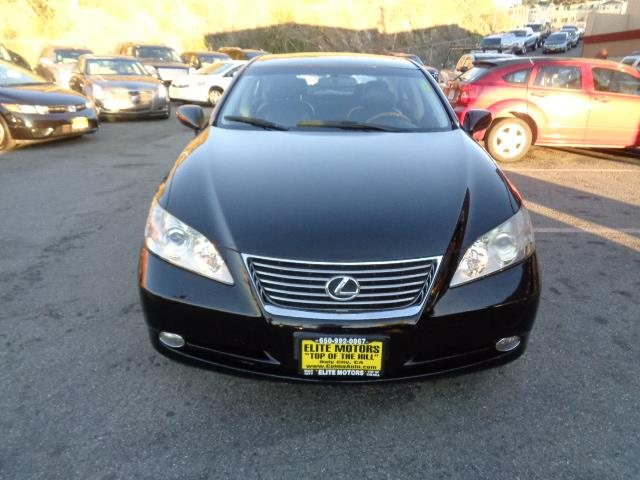 2008 LEXUS ES 350 BASE 4DR SEDAN black body side moldingbumper color - body-colordoor handle co