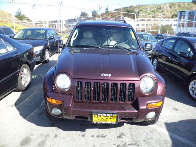 2004 JEEP LIBERTY LIMITED 4WD 4DR SUV deep molten red clearcoat 4 brand new tires 4 wheel drive