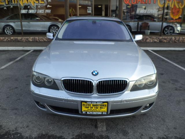 2006 BMW 7 SERIES 750LI 4DR SEDAN titanium silver navigation sport package premium package heat