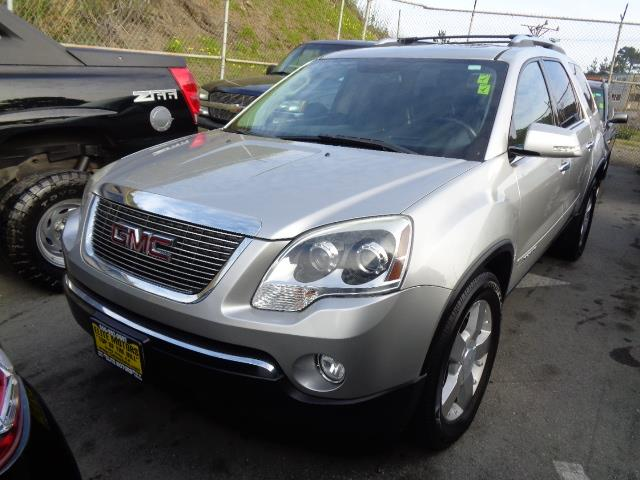 2008 GMC ACADIA SLT-2 AWD 4DR SUV silver navigation dvd backup camera 3rd row seat heated seat