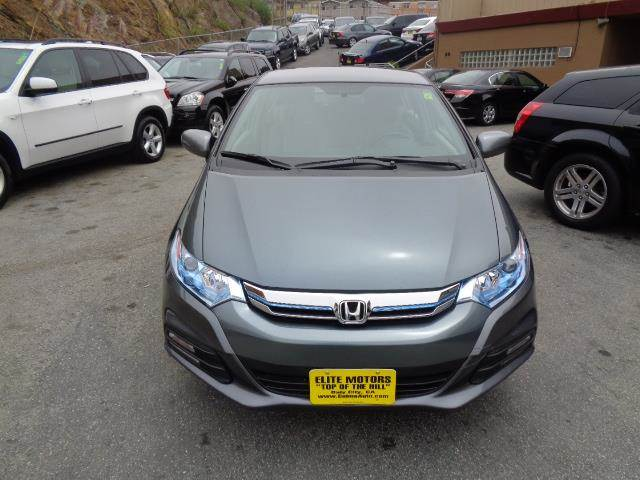 2013 HONDA INSIGHT BASE 4DR HATCHBACK polished metal metallic bumper color - body-colordoor hand