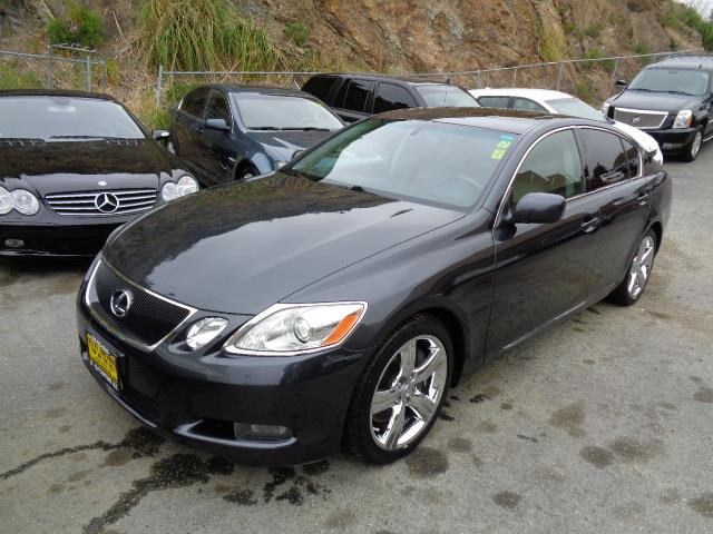 2007 LEXUS GS 350 BASE 4DR SEDAN smoky granite mica super low mileage air filtration - active ch