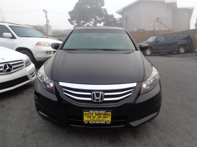 2012 HONDA ACCORD EX 4DR SEDAN 5A black sun roof bumper color - body-colordoor handle color - bo