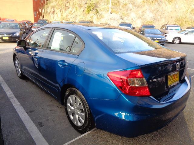 2012 HONDA CIVIC LX 4DR SEDAN 5A dyno blue pearl bumper color - body-colordoor handle color - bod