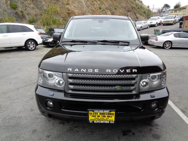 2009 LAND ROVER RANGE ROVER SPORT HSE 4X4 4DR SUV W LUXURY PACKAG java black pearl navigation e