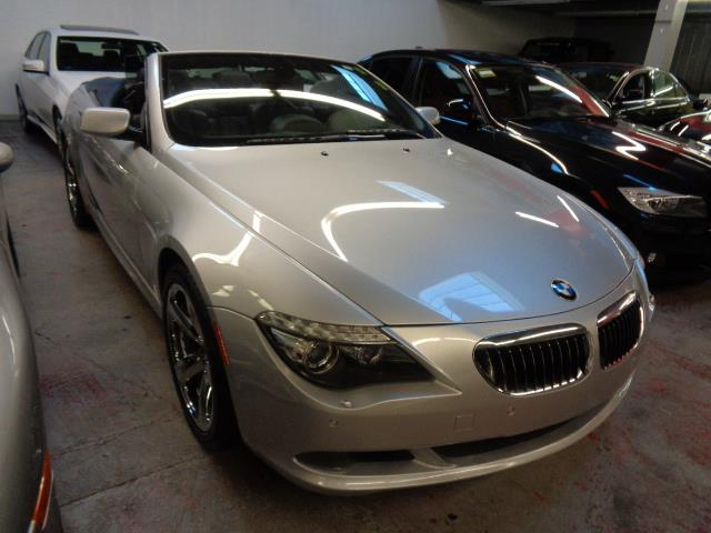 2008 BMW 6 SERIES 650I CONVERTIBLE titan silver grille color - chromehigh beam assistantactive