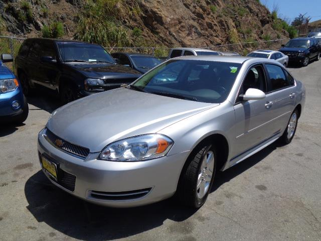 2013 CHEVROLET IMPALA LT FLEET 4DR SEDAN silver body side moldings - body-colordoor handle color