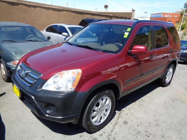 2005 HONDA CR-V EX AWD 4DR SUV burgundy front air conditioningfront air conditioning - automatic