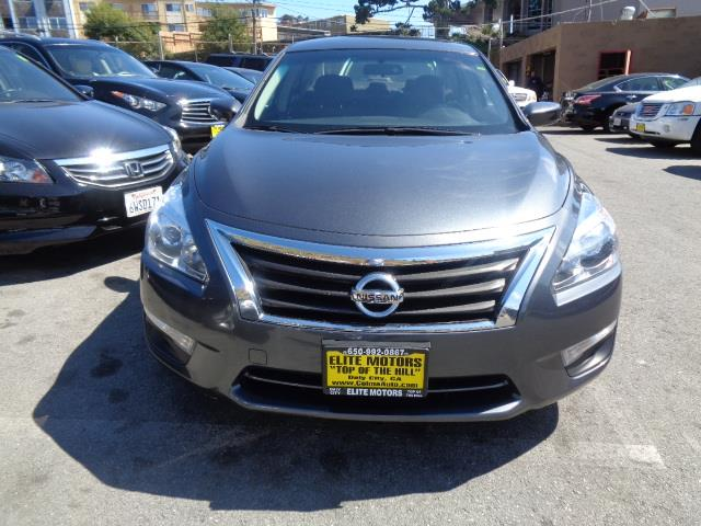2013 NISSAN ALTIMA 25 S 4DR SEDAN graphite grey door handle color - chromeexhaust - dual exhaus