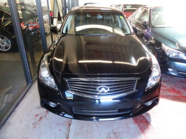 2012 INFINITI G37 SEDAN SPORT SEDAN black obsidian technology package navigation backup camera