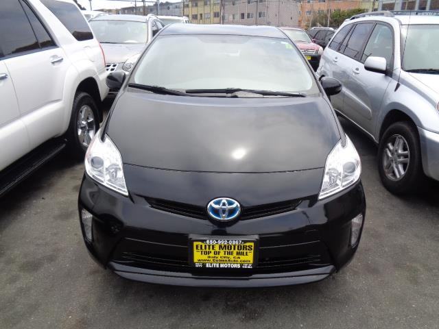 2013 TOYOTA PRIUS PERSONA SERIES SPECIAL EDITION black persona series special edition leather n