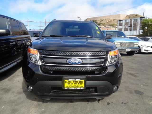 2013 FORD EXPLORER LIMITED 4DR SUV black leather 3rd row seat rear spoiler - rooflinedoor handl