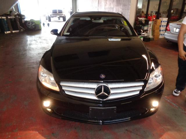 2008 MERCEDES-BENZ CL-CLASS CL550 COUPE black grille color - chromeair filtrationcenter console