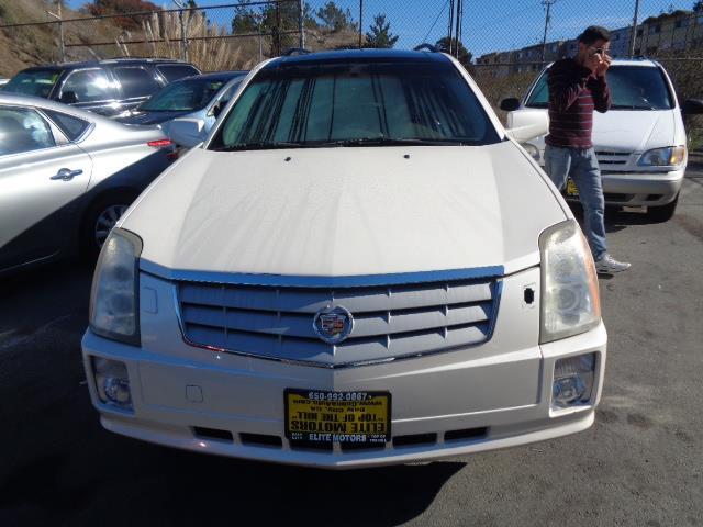 2006 CADILLAC SRX BASE 4D UTILITY AWD V6 white child safety door locks power door locks vehicle
