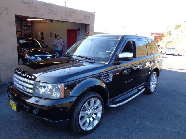2006 LAND ROVER RANGE ROVER SPORT HSE 4DR SUV 4WD java black rear spoilerair filtrationbeverage