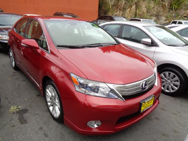 2010 LEXUS HS 250H matador red navigation technology package heated seats backup camera 54151