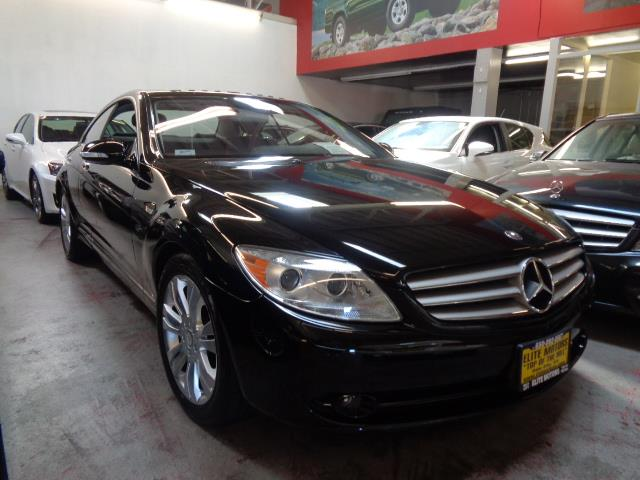 2009 MERCEDES-BENZ CL-CLASS CL550 4MATIC AWD 2DR COUPE black diamond white metallicgrille color