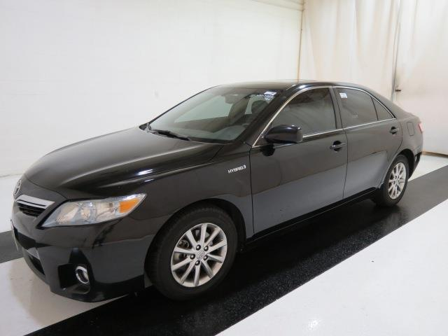 2011 TOYOTA CAMRY HYBRID BASE 4DR SEDAN magnetic grey metallic navigation leather moon roof hea