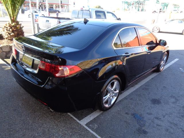 2012 ACURA TSX BASE WTECH 4DR SEDAN WTECHNOLO crystal black pearl technology package navigation