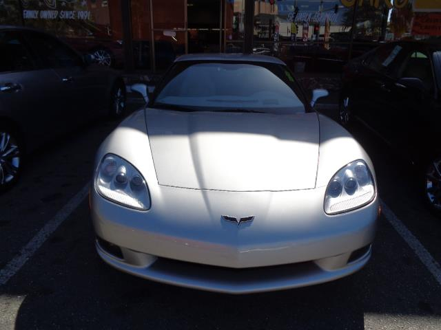 2007 CHEVROLET CORVETTE BASE 2DR COUPE silver navigation heated seats atomic orange tintcoat pai