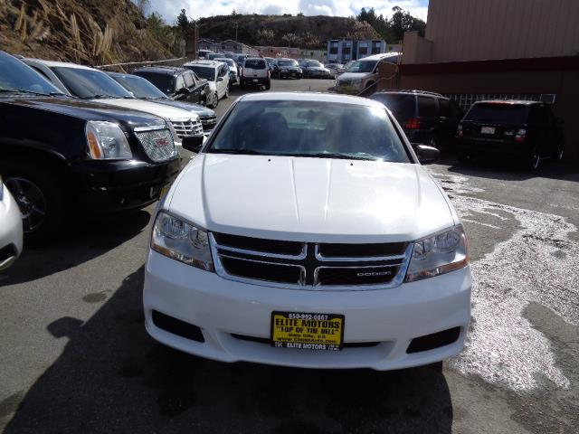 2011 DODGE AVENGER EXPRESS 4DR SEDAN white blackberry pearl coat paintbumper color - body-colord