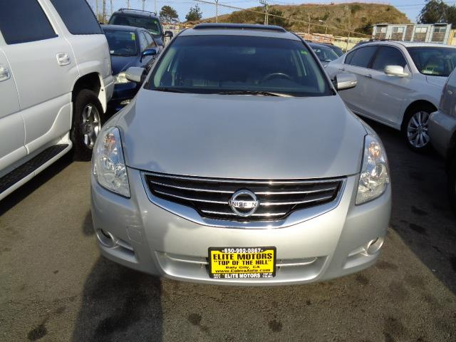 2010 NISSAN ALTIMA 25 SL 4DR SEDAN silver sl with leather navigation moon roof backup camera