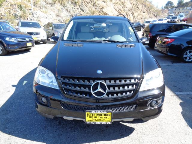 2006 MERCEDES-BENZ M-CLASS ML350 AWD 4MATIC 4DR SUV obsidian black navigation air filtrationautom