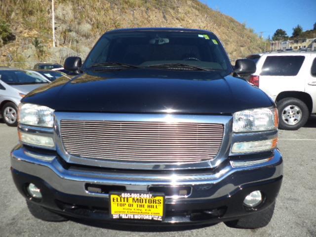 2006 GMC SIERRA 1500 EXTENDED SL CAB black lifted 99740 miles VIN 1GTEC19T06Z161095