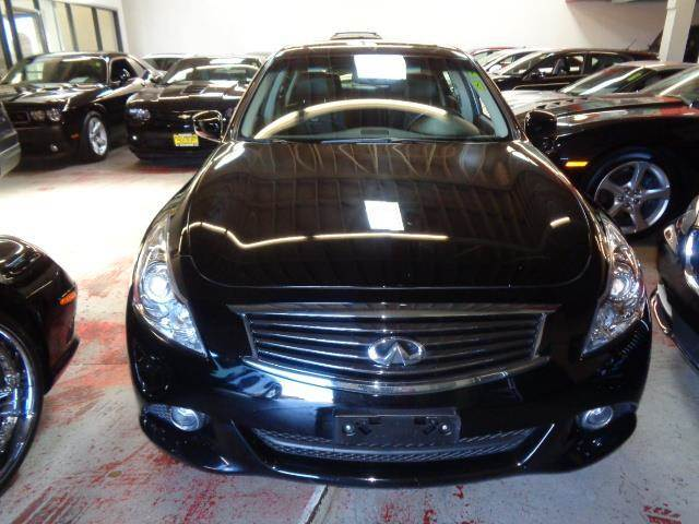 2013 INFINITI G37 SEDAN JOURNEY 4DR SEDAN black door handle color - body-colorexhaust - dual exh