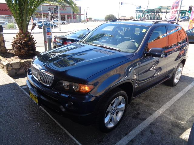 2004 BMW X5 44I AWD 4DR SUV toledo blue sport package premium package navigation cold weather
