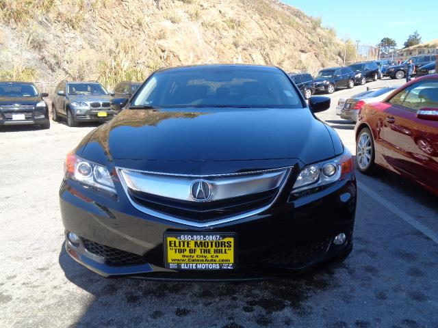 2013 ACURA ILX 20L WTECH 4DR SEDAN WTECHNOLO black navigation tech package lease return bumpe