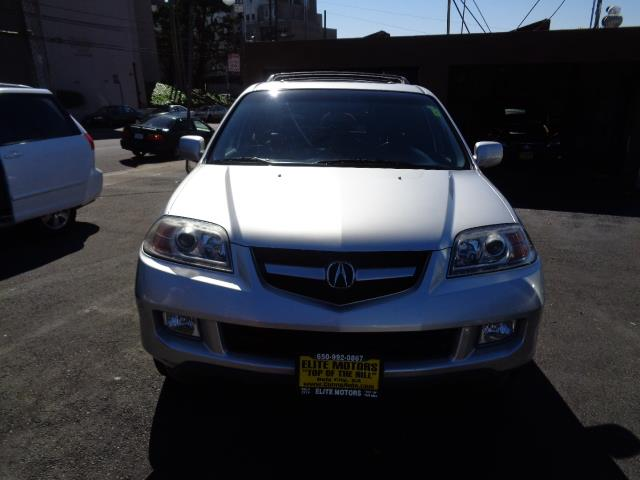 2006 ACURA MDX TOURING WNAVI WRES AWD 4DR SUV silver navigation dvd backup camera 3rd row se