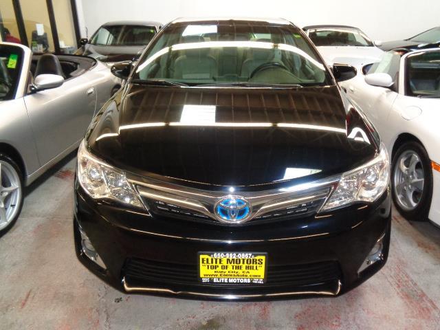 2012 TOYOTA CAMRY HYBRID XLE 4DR SEDAN attitude black metallic warranty like new condition bump