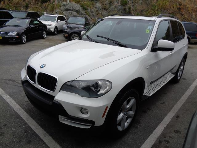 2008 BMW X5 30SI AWD SUV alpine white 3rd row seat bumper color - body-colordoor handle color -