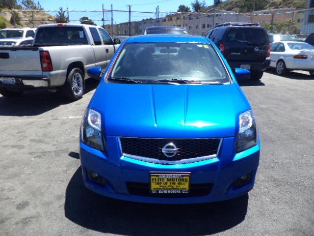 2012 NISSAN SENTRA SR SPECIAL EDITION SEDAN metallic blue special edition navigation moon roof