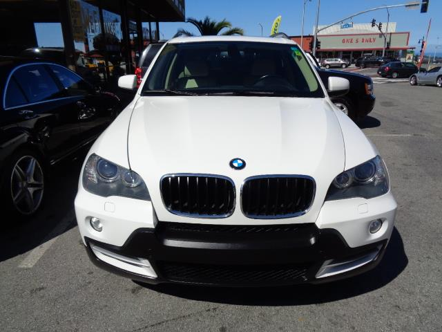 2008 BMW X5 30SI AWD SUV alpine white heated seats panorama roof bumper color - body-colordoor