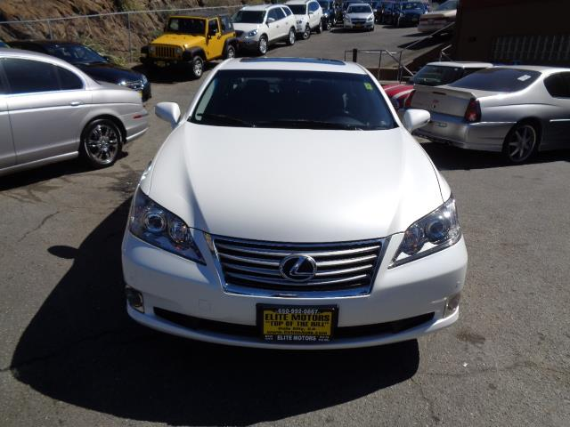 2012 LEXUS ES 350 BASE 4DR SEDAN starfire pearl navigation backup camera heated seats body side